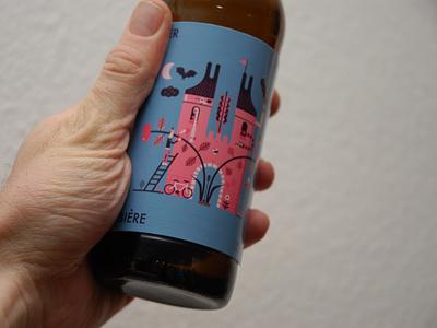 Feld0 illustration craft brew homebrew fake beer