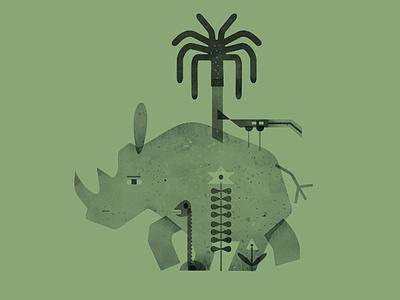 animals africa950 africa schnuppe illustration