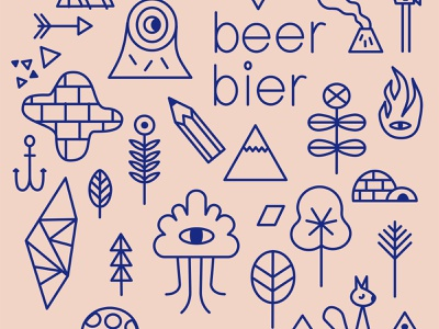 beer THINGS2 logo branding design illustrations aspinall schnuppe illustration beer bottle beer branding beer label beer