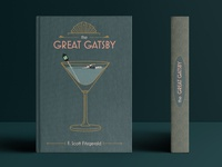Book Cover, The Great Gatsby