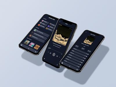 Music Player App illustration sketch figma branding ui inspiration web graphicdesign design