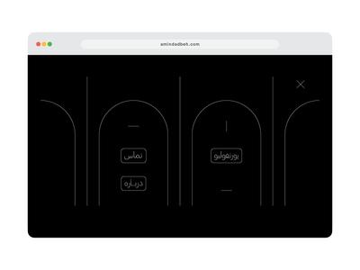 Fullscreen Navigation UI