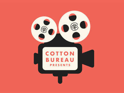 Cotton Bureau Oscars Email Header email flat design illustration film oscars