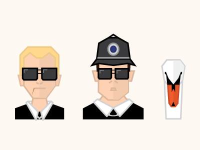 Ever fired your gun in the air...? cornetto trilogy swan portraits people icons nick frost simon pegg hot fuzz