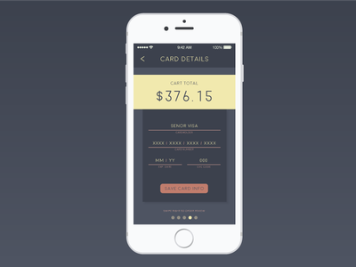 Daily UI Challenge #002 - Check Out app ui mobile check out checkout daily ui