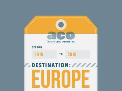 Destination: Europe Preview travel orchestra luggage luggage tag europe