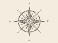 Old School Compass