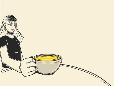 A Tea Adventure ufo tea character animation illustration frame by frame cell cell animation animate