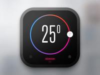Day 020 - Thermostat Widget