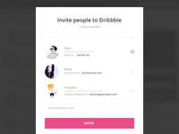 Day021   dribbble invitation