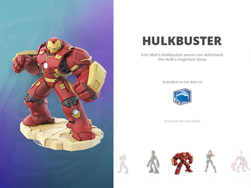 Day 027 - Hulkbuster Card figurine infinity disney info about card slider avengers hulkbuster