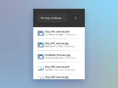 Day 041 - File Upload Widget