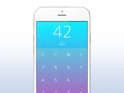 Day 042 - Calculator