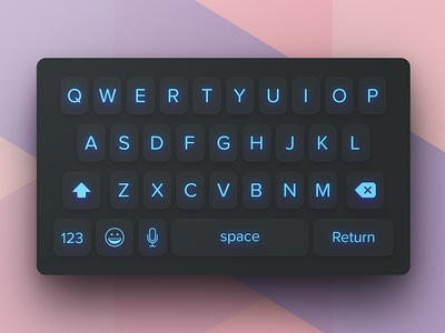Day 094 - Mobile Keyboard chat message text write kit apple ios keyboard ui mobile