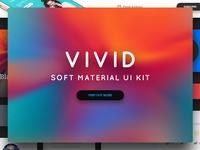 Vivid - Soft Material UI Kit