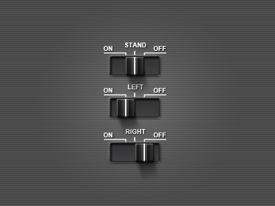 Switch switch on off left right ipad ui user interface tutorial