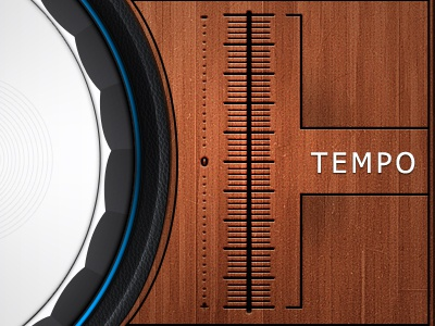 Turntable Tempo Text Issue turntable dj app audio mobile tablet tempo