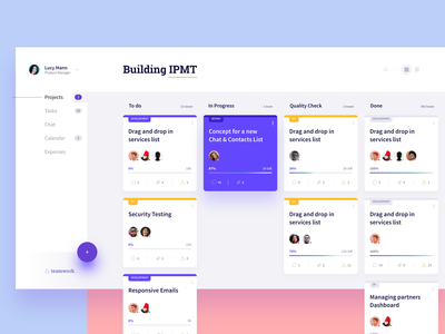 Project Management Tool interface ui dashboard scrum project management project cards ui dashboard