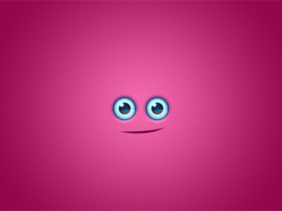 Dribbble Smiley smiley face blue eyes pink envato graphicriver
