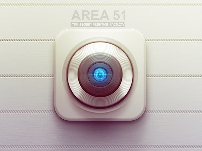 Retina Scanner retina scanner ios camera icon ipad iphone area 51 top secret research facility flare clean aliens ufo space ship government