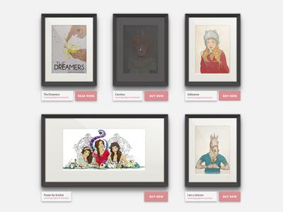 Portfolio Design portfolio design prints sale store frames illustration elena-greta apostol