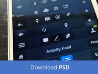 10 Navigation Bars - Free PSD