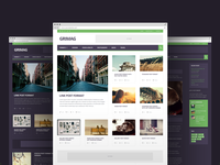 Grimag - Magazine WordPress Theme