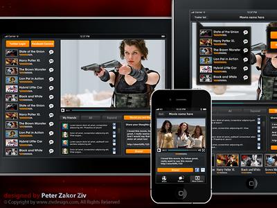 Movie trailers app