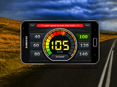 Speed limit checker