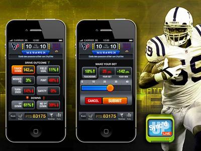 Live betting app