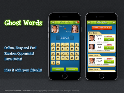 Ghost Words game