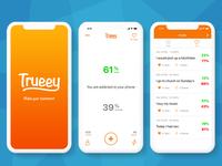 Trueey - Vote on statements anonimously