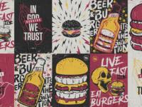 Live fast, eat burgers!