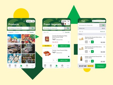 Redesigning the Woolworths app
