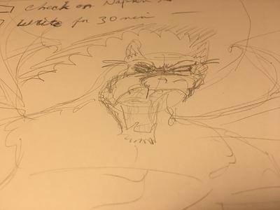 How you feel illustration sketch