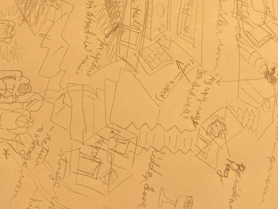 Mapping for story isaac craft drawing sketch illustration