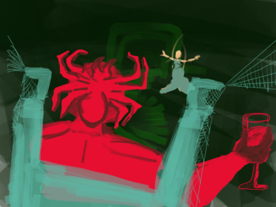 Halls of the Spider King