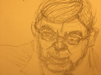 Ambassador Taylor ukraine hearing impeachment witness ambassador taylor mechanical pencil illustration sketch