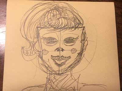 Unsuspecting part A horror ulterior motives mask characters concept art