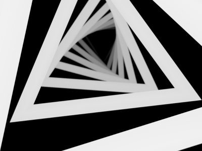 Into the void c4dart minimalist minimal concept nft art nft cryptoart crypto repeating tunnel vortex abstract 3d art 3d modeling 3d cinema4d c4d
