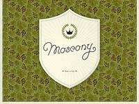 Moscony Family Crest