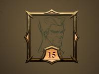 Azzur - User Profile, picture rank frame level 15