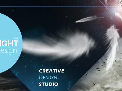 Facebook cover for FutureSight Design facebook cover design illustration dramatic motion branding
