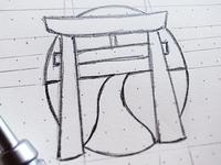 Katowicka Sekcja Kendo   Rj For Bw   Final Sketch