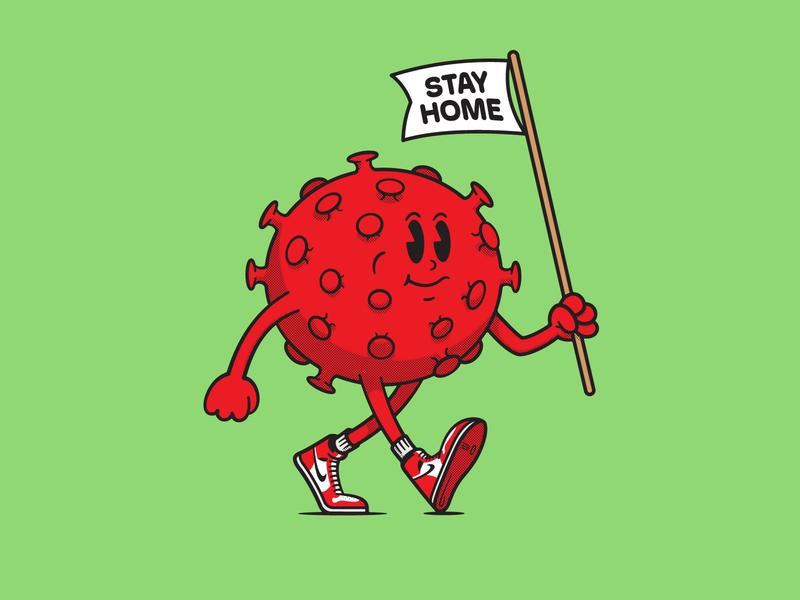 Mr Coronavirus mascot character mascot design mascot logo coronavirus mascot illustration vector