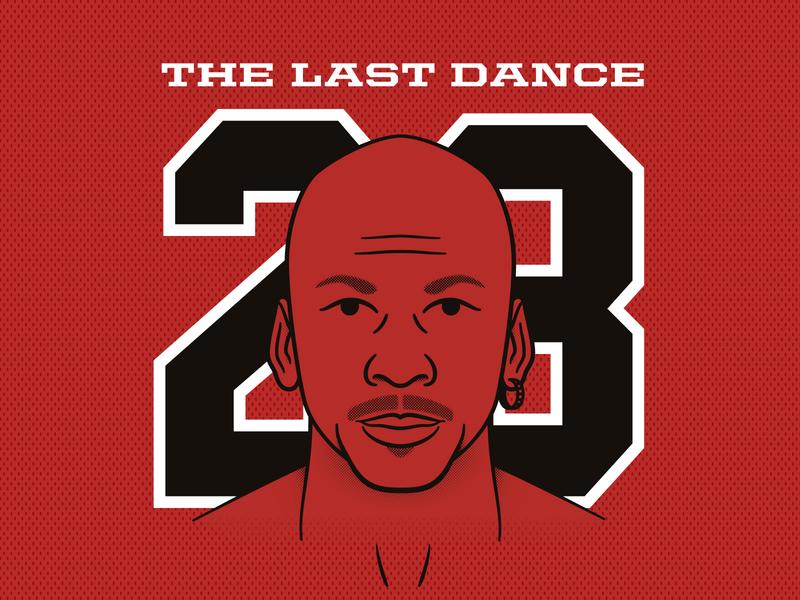 The Last Dance illustraiton the last dance michael jordan jordan