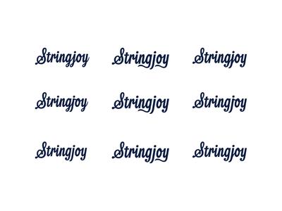 Stringjoy 'gjoy' Explorations stringjoy thevectormachine vector process handtype vectormachine handlettering hashtaglettering lettering