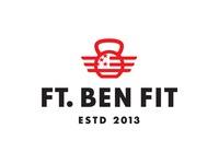 Ft. Ben Fit logo design fit fitness gym logo