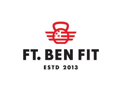 Ft. Ben Fit logo design fit fitness gym logo