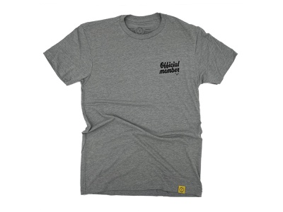 INCH x INCH - Official Member T-shirt badge t-shirt inch x inch handlettering hashtaglettering lettering